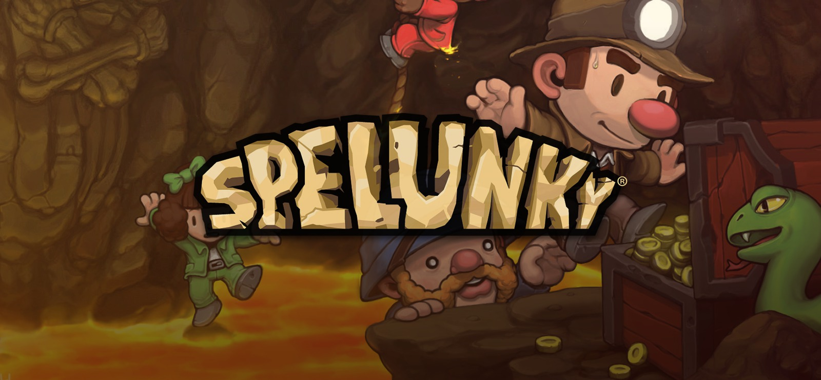 Spelunky Poster